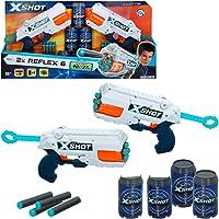 X-Shot - Pack 2 pistolas Reflex 6 X-Shot