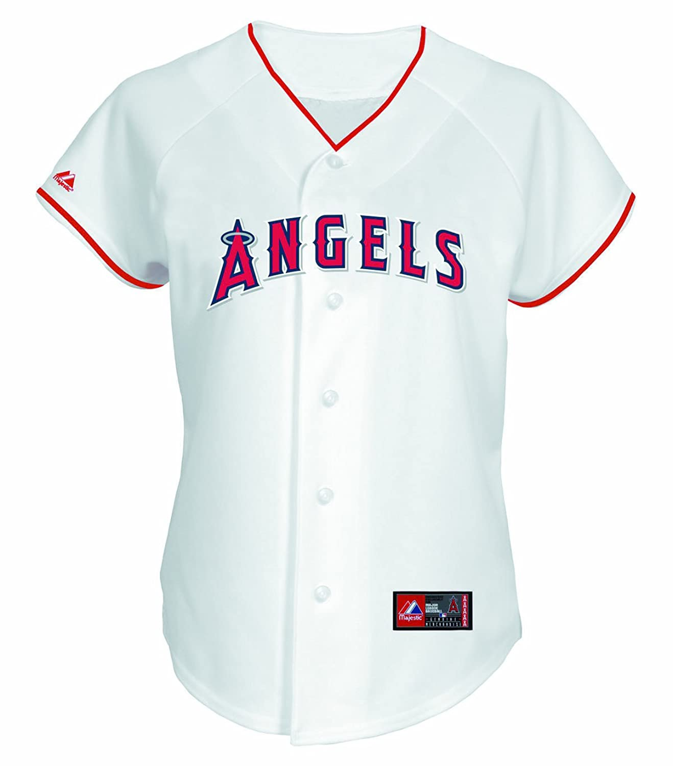 4bca7df4703 ... Stitched MLB Jersey Amazon.com MLB Los Angeles Angels Albert Pujols  White Home Replica Baseball Womens Jersey, Minnesota Twins ...