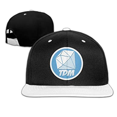 80cfdd90858 HIPHOP Blank Adjustable DanTDM Logo Hat at Amazon Men s Clothing store
