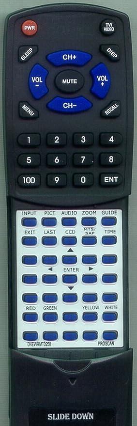 Replacement Remote Control for PROSCAN 42LA30H, 0NEWRMT0258, 26LB30H,  32LB30H, 47LB45H