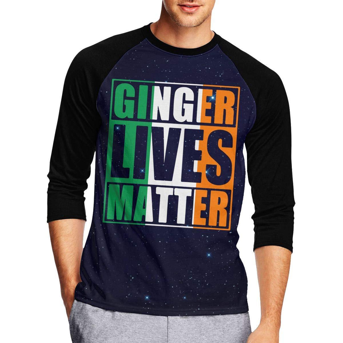 JP94MAN Ginger Lives Matter - Camiseta de Manga 3/4 para ...