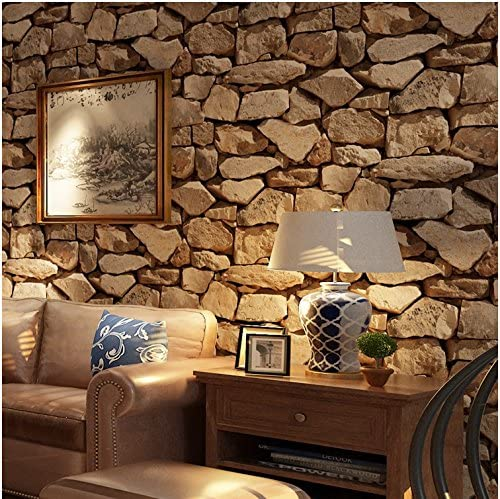 Yosot 3d Thickening Stone Effect Antique Wallpaper Living Room
