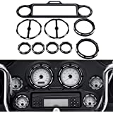 Kuryakyn 3765 Motorcycle Audio Accessory Stereo Accent for 1996-2013 Harley-Davidson Motorcycles Chrome
