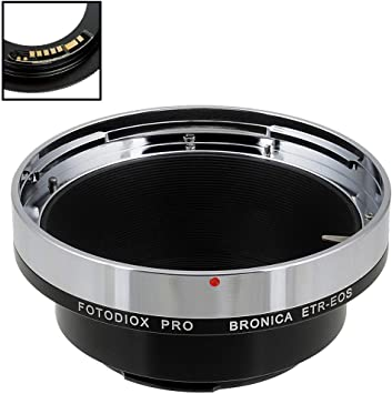 Fotodiox Pro Lens Mount Adapter Compatible With Bronica Camera Photo