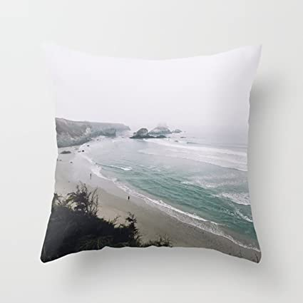 Amazon com: QIZI Hold Pillow Covers Big Sur Coast for
