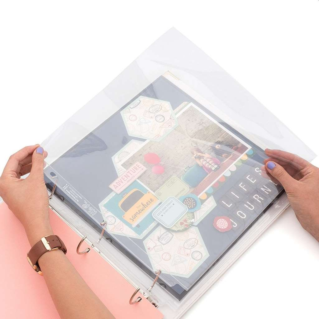 12 x 12-inch 3-Ring Album Page Protectors by We R Memory Keepers 10 pack American Crafts 660150