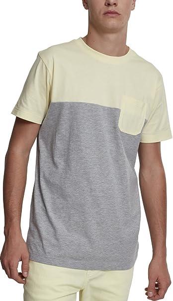 Urban Classics Block Stripe tee, Camiseta para Hombre