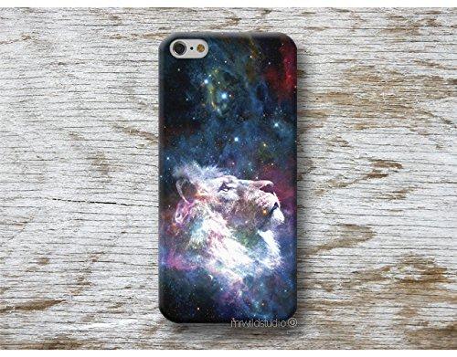 lion galaxie Coque Étui Phone Case pour iPhone X XR XS MAX 4 4s 5 5se se 5C 5S 6 6s 7 Plus iPhone 8 Plus iPod 5 6