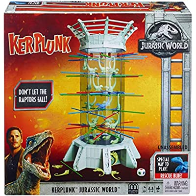 Kerplunk! Raptors Jurassic World [ Exclusive]: Toys & Games
