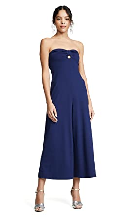221a4a937fa4 Amazon.com  Susana Monaco Women s Cinch Front Jumpsuit  Clothing