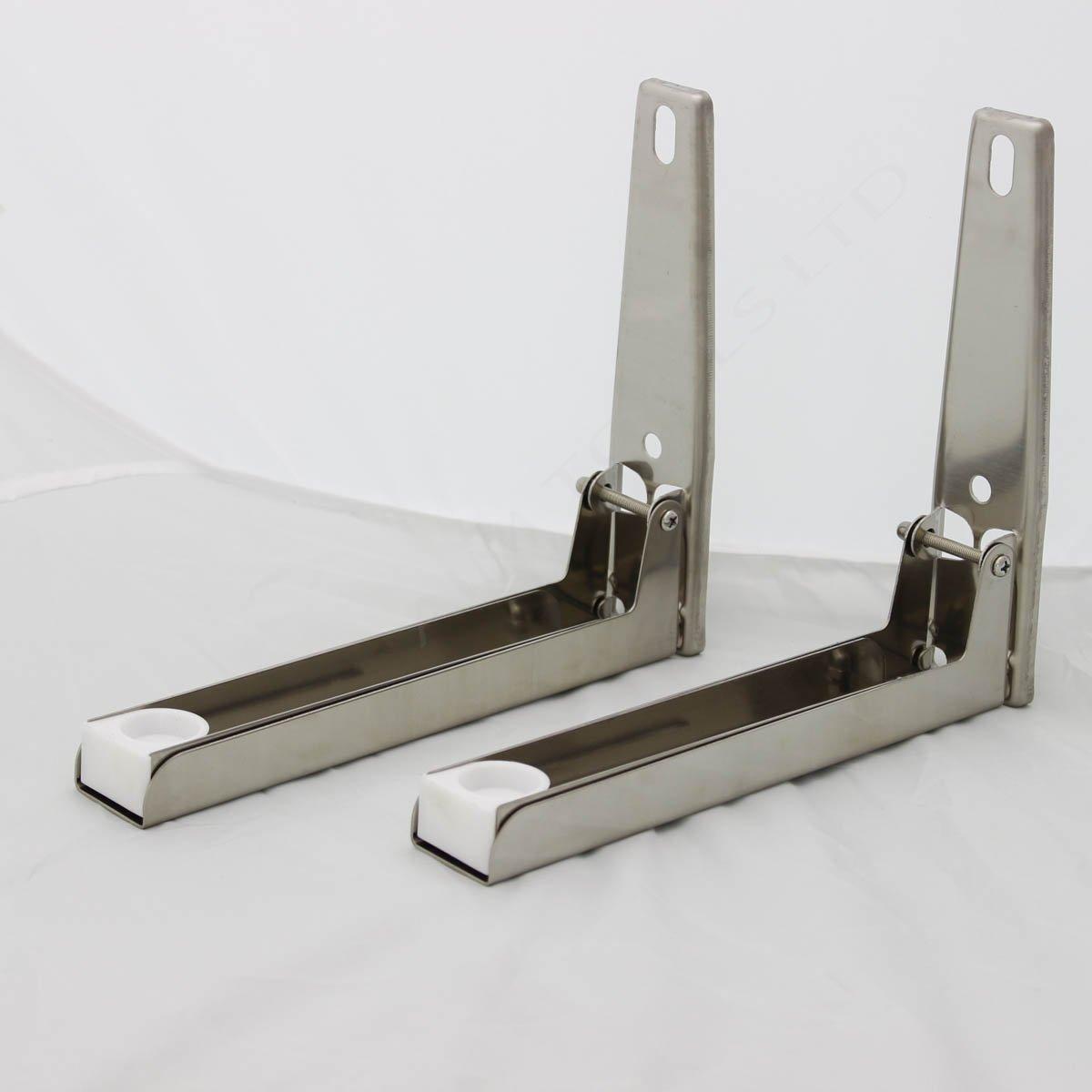 507251 soporte para microondas cocina bandeja de horno ngulo soporte marco de acero inoxidable - Soportes para microondas ...