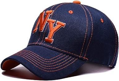 Gorras de béisbol NY Hombre Mujer Sombreros y Gorras Hip Hop Cap ...