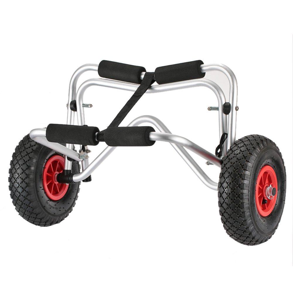 Docooler Carro de Transporte Kayak Carretilla de kg Capacidad de Carga Plegable