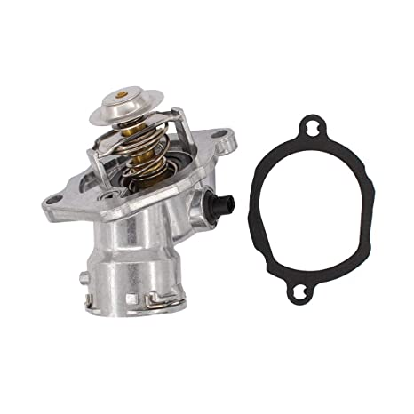 NewYall Engine Coolant Thermostat Housing Assembly w//Gasket
