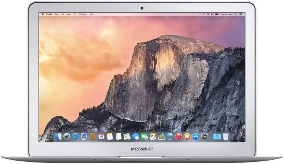 Apple MacBook Air MJVM2LL/A 11.6-Inch Laptop (1.6 GHz Intel Core i5, 128 GB SSD, Integrated Intel HD Graphics 6000, Mac OS X 10.10 Yosemite) (Renewed)