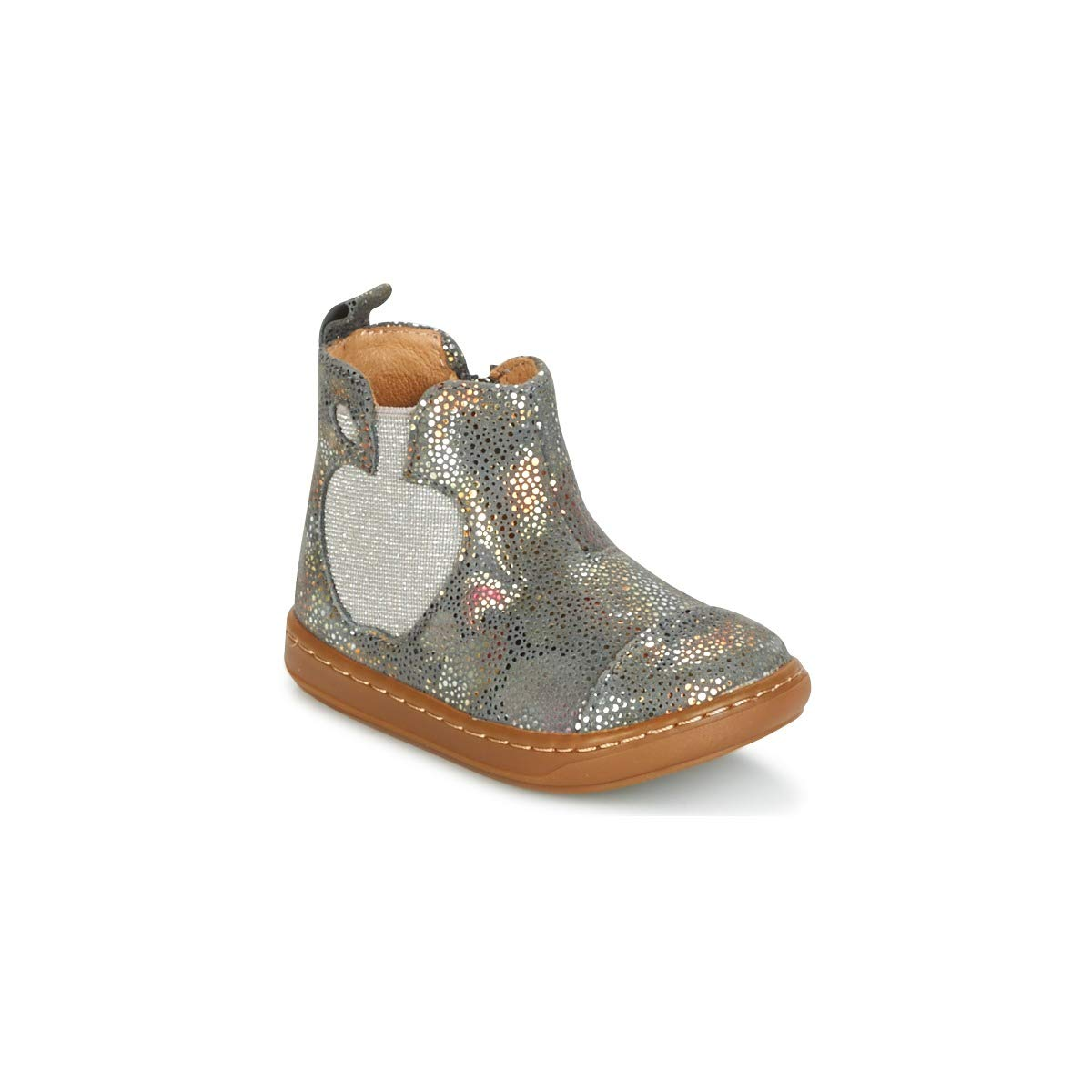 Shoo Pom Boots Fille Gris - Bouba Apple - Millim