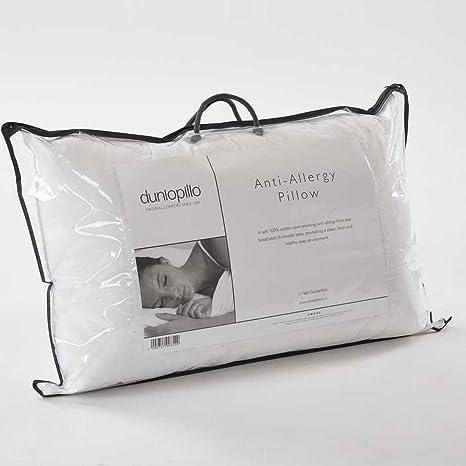 Dunlopillo Kissen Mit Anti Allergy Fasern Weiss Amazon De Kuche
