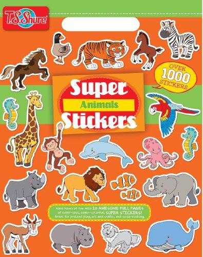Price comparison product image T.S. Shure Animals Super Sticker Book