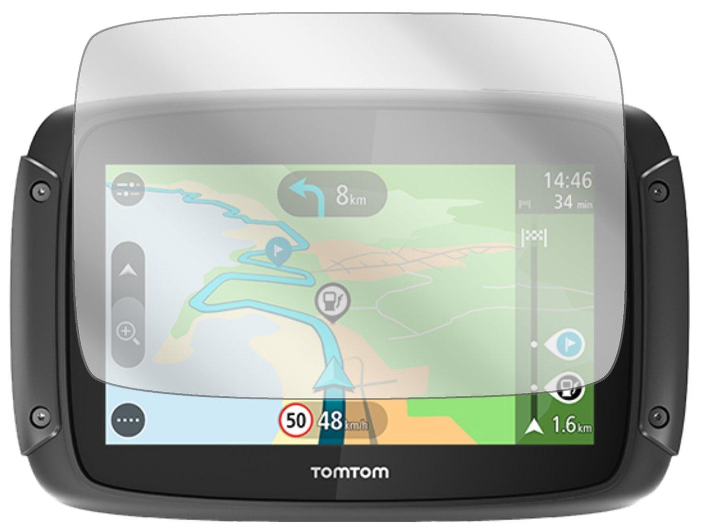 dipos I 3X Protection ecr/án Compatible avec Tomtom Rider 420 Films de Protection d/écran Transparent