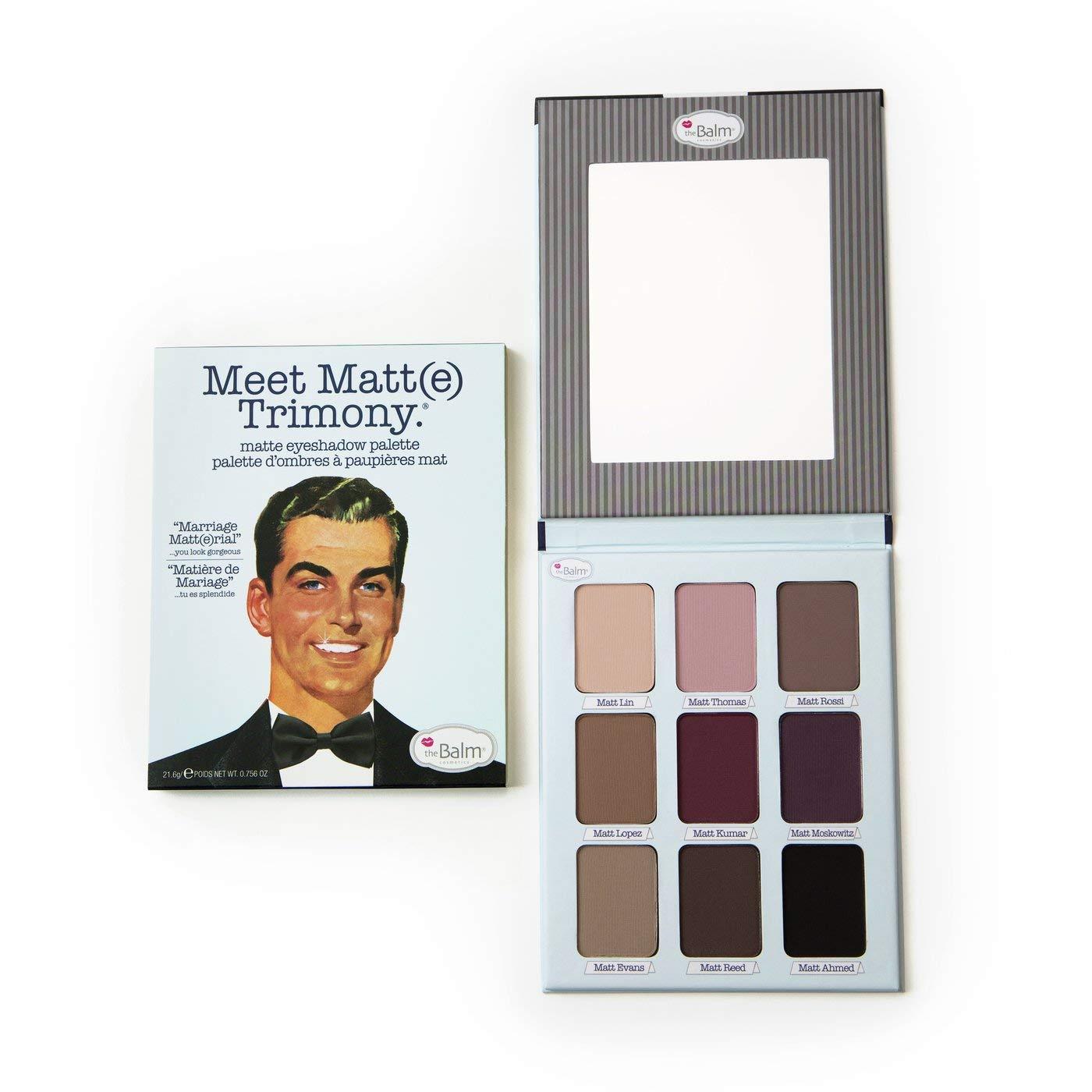 The Balm Cosmetics Meet Trimony Matte Eyeshadow Palette