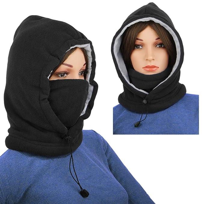 ba157bfdbaeb Ski Mask Women Men Balaclava Fleece Hood Winter Face Mask Head ...