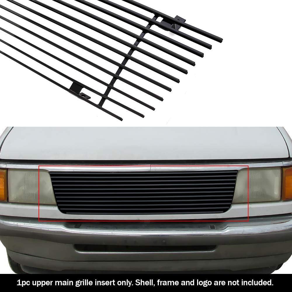 Off Roader eGrille Fits 1993-1997 Ford Ranger Black Stainless Billet Grille Grill Insert