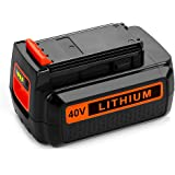 Energup 40 Volt MAX 2.0Ah Replacement Battery for Black&Decker LBX2040 LBX36 LBXR36 LBXR2036 40V Lithium Ion Battery