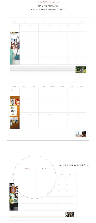 Indigo 13470 - Agenda perenne, diseño Finlandia, A4: Amazon ...