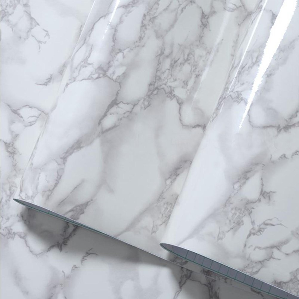 Hauptdekoration-Wand-Aufkleber, Granit-Marmoreffekt-Kontakt-Tapete ...