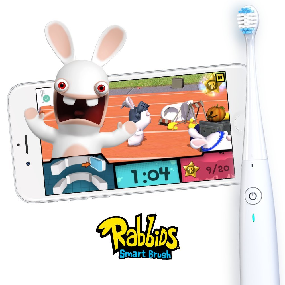 Kolibree Smart Toothbrush with Games. Sonic toothbrush Educates Kids with Live Feedback and Interactive App