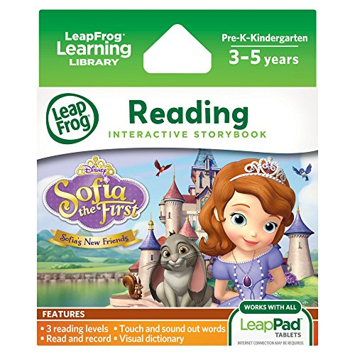 LeapFrog Disney Sofia The First Sofia's New Friends Interactive Storybook (for LeapPad