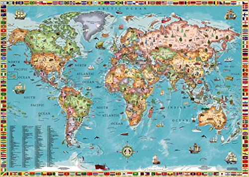 World Map for Kids (Laminated) ()