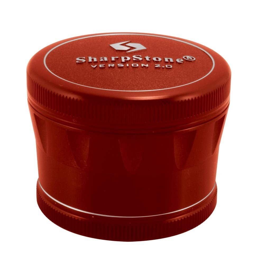 2.5'' Sharpstone Version 2.0 4pc Solid Top Grinder
