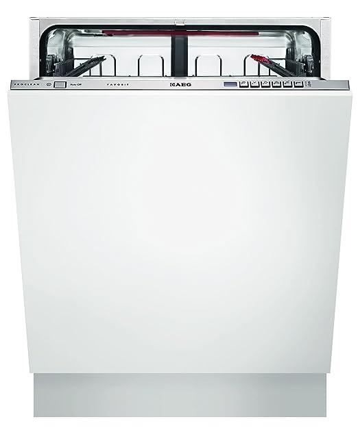 AEG F66602VI0P - Lavavajillas (Totalmente integrado, Color blanco ...