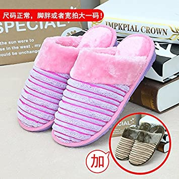 b314a6151341 Accueil habuji coton chaud chaussons hommes et femmes sac avec trampoline  indoor chaussures antidérapantes, femelle