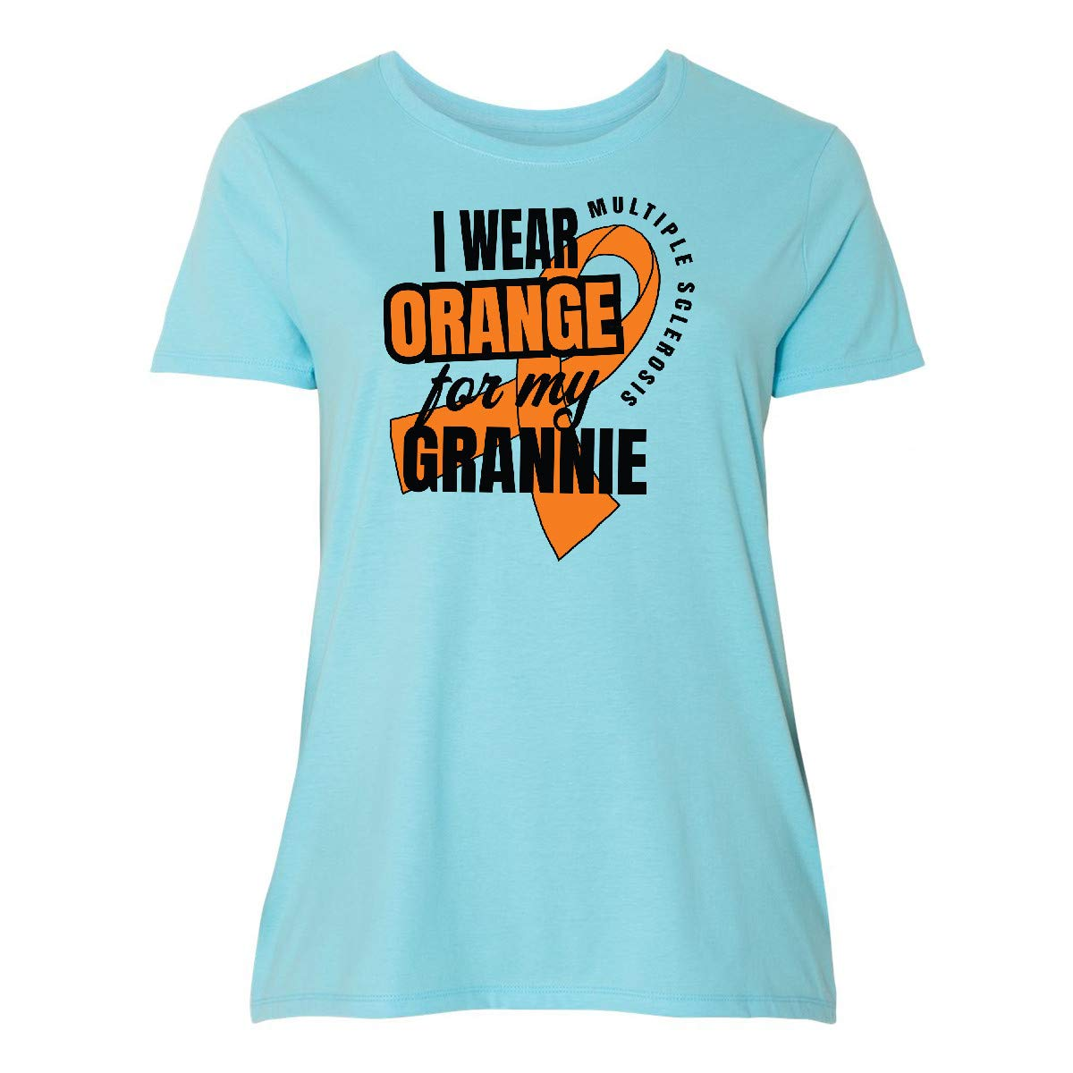 inktastic I Wear Orange for My Grannie Multiple Sclerosis Awareness Baby T-Shirt