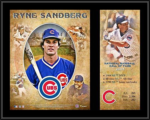 (Ryne Sandberg Chicago Cubs 12