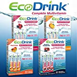EcoDrink Complete Multivitamin Drink Mix, 30 Packets-Berry