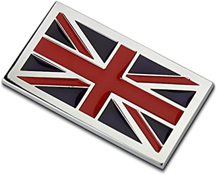 Dsycar 1/ pcs 3d en m/étal UK//US//Germang//France//Italie//Su/ède//EU Drapeau de voiture Side Fender arri/ère Trunk Embl/ème badge Autocollant de voiture Styling