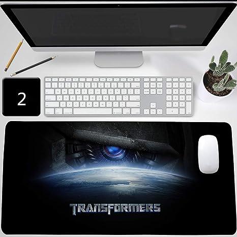 Transformers TF Optimus Prime Alfombrilla de ratón Gaming, XXL Alfombrilla para raton de juego Mouse Pad, ...