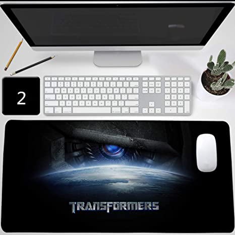 Transformers TF Optimus Prime Alfombrilla de ratón Gaming, XXL Alfombrilla para raton de juego Mouse