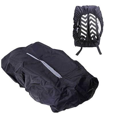 Cache à dos couverture imperméable Protection Sac bande réfléchissante 20–45L