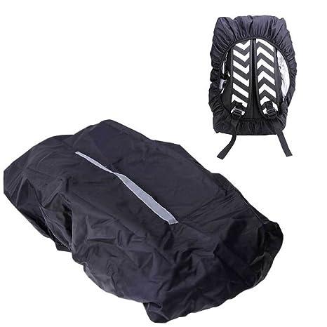 Copri Mochila cubierta impermeable protector bolsa tira reflectante 20 – 45L