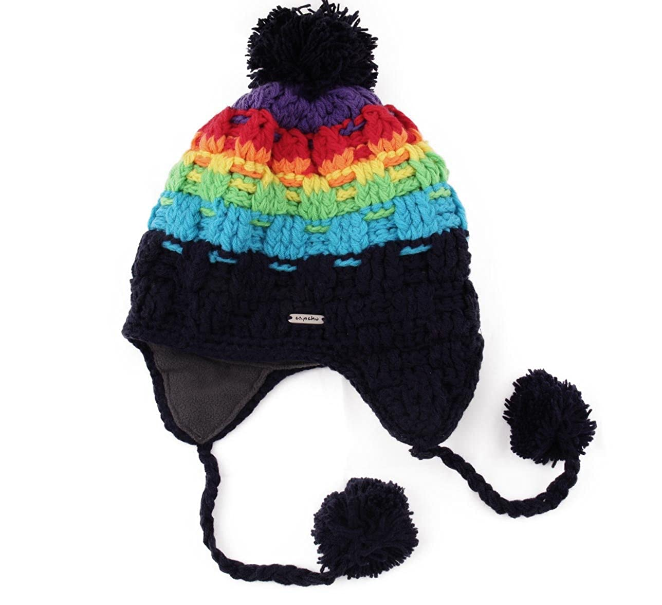 Capcho Big Boys Kid Eskimo Peruvian Beanie