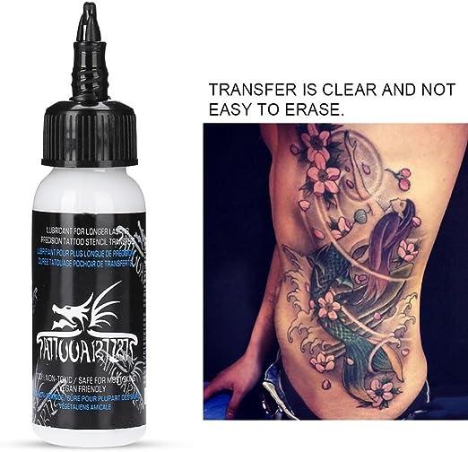 Rosvola Solución de Gel de Transferencia de Tatuaje, Tinta en Crema Profesional para Suministros de Tatuaje(30ml) : Amazon.es: Hogar