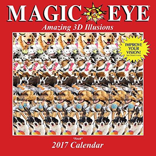 Magic Eye 2017 Wall Calendar