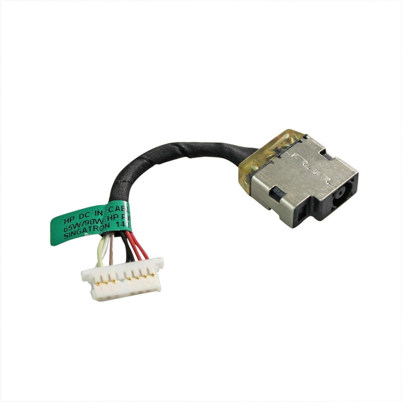 GinTai DC Power Jack Harness Cable Socket Plug Port Replacement for HP Pavilion x360 15-U202NIA 15-U202NA 15-U170N 15-U210NM 15-U203NA 15-U202NF 15-U032NG 15-U002XX 15-U001NA
