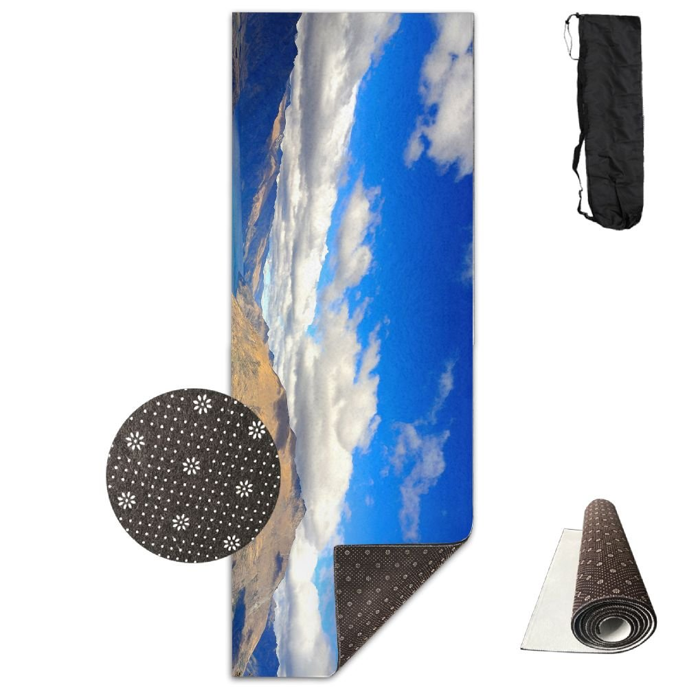 Amazon.com: BINGZHAO Island Lake Sky Exercise Yoga Mat For ...