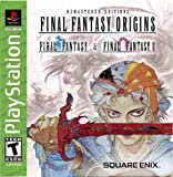 Final Fantasy Origins Final Fantasy I & II Remastered Editions - PlayStation