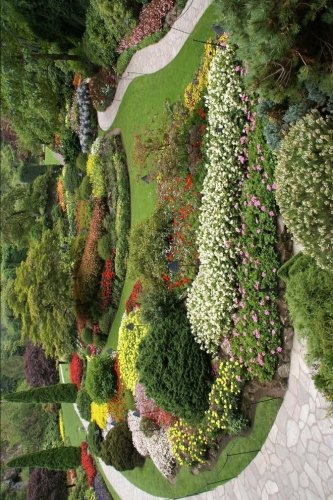 (Butchart Garden in British Columbia Canada Journal: 150 page lined notebook/diary)